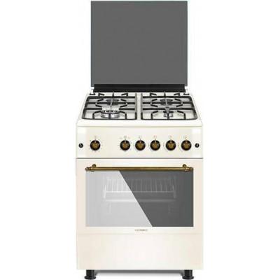 Κουζίνα αερίου Calfer Gas F6TX40GF-BG